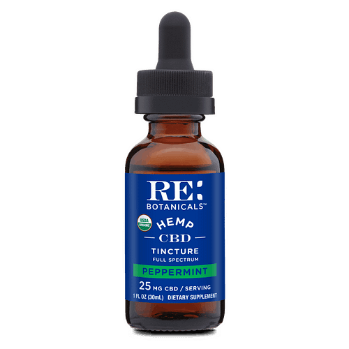 RE Botanicals Hemp Peppermint tincture