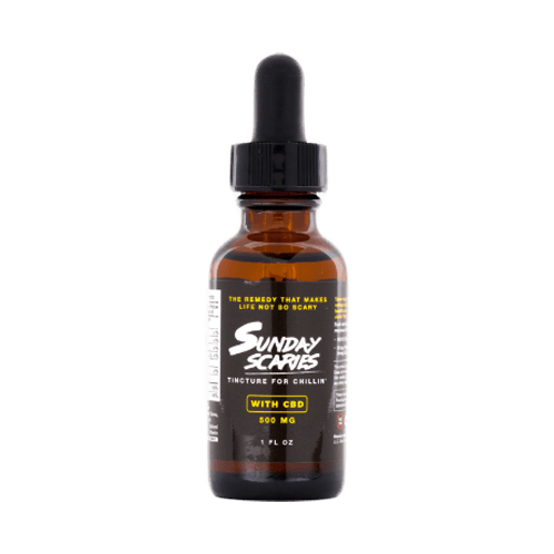 Sunday Scaries CBD oil tinctures