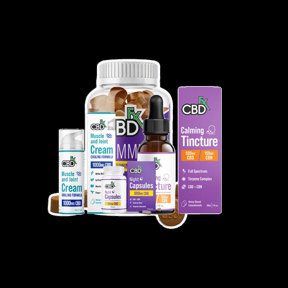 cbdfx all cbd products