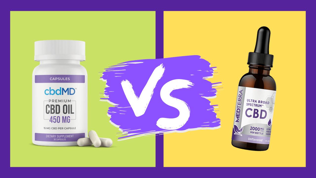 cbd capsules vs tincture