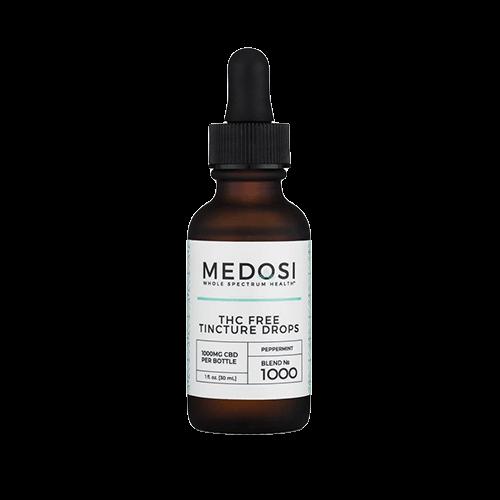 MEDOSI THC free CBD oil tincture
