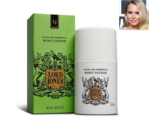 Kristen Bell tried CBD Beauty Products