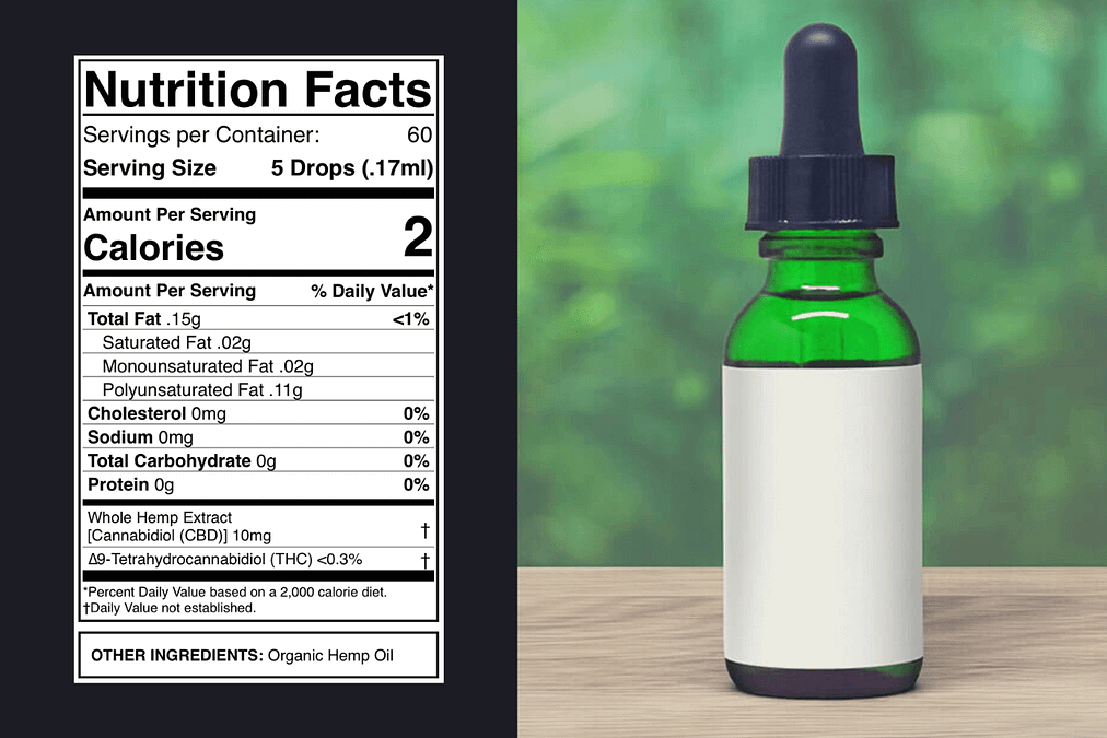 CBD Label - How to Read