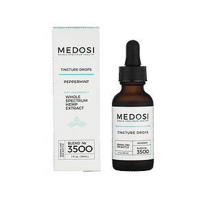 MEDOSI CBD oil tincture 3500mg