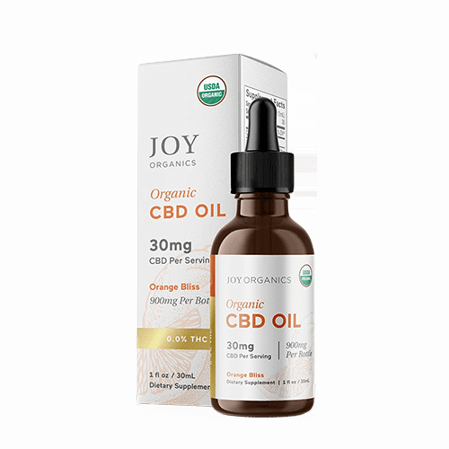 Joy Organics broad spectrum Orange Bliss CBD Tincture